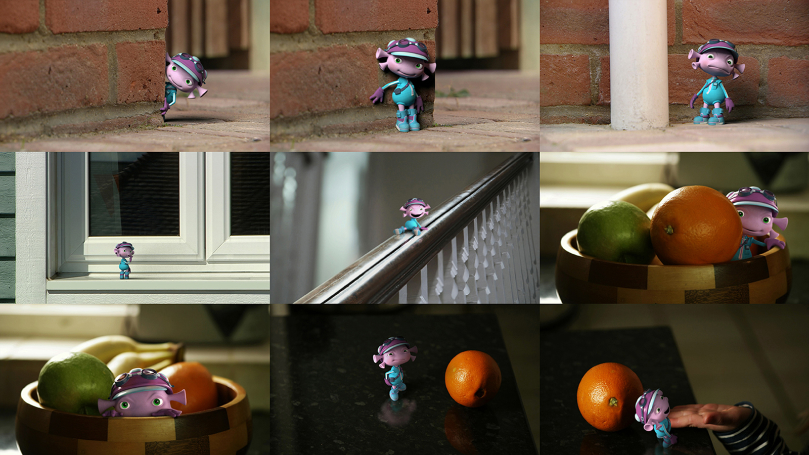 9 frame from the Floogals animation