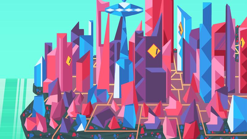 Colour artwork of Gruknopolis
