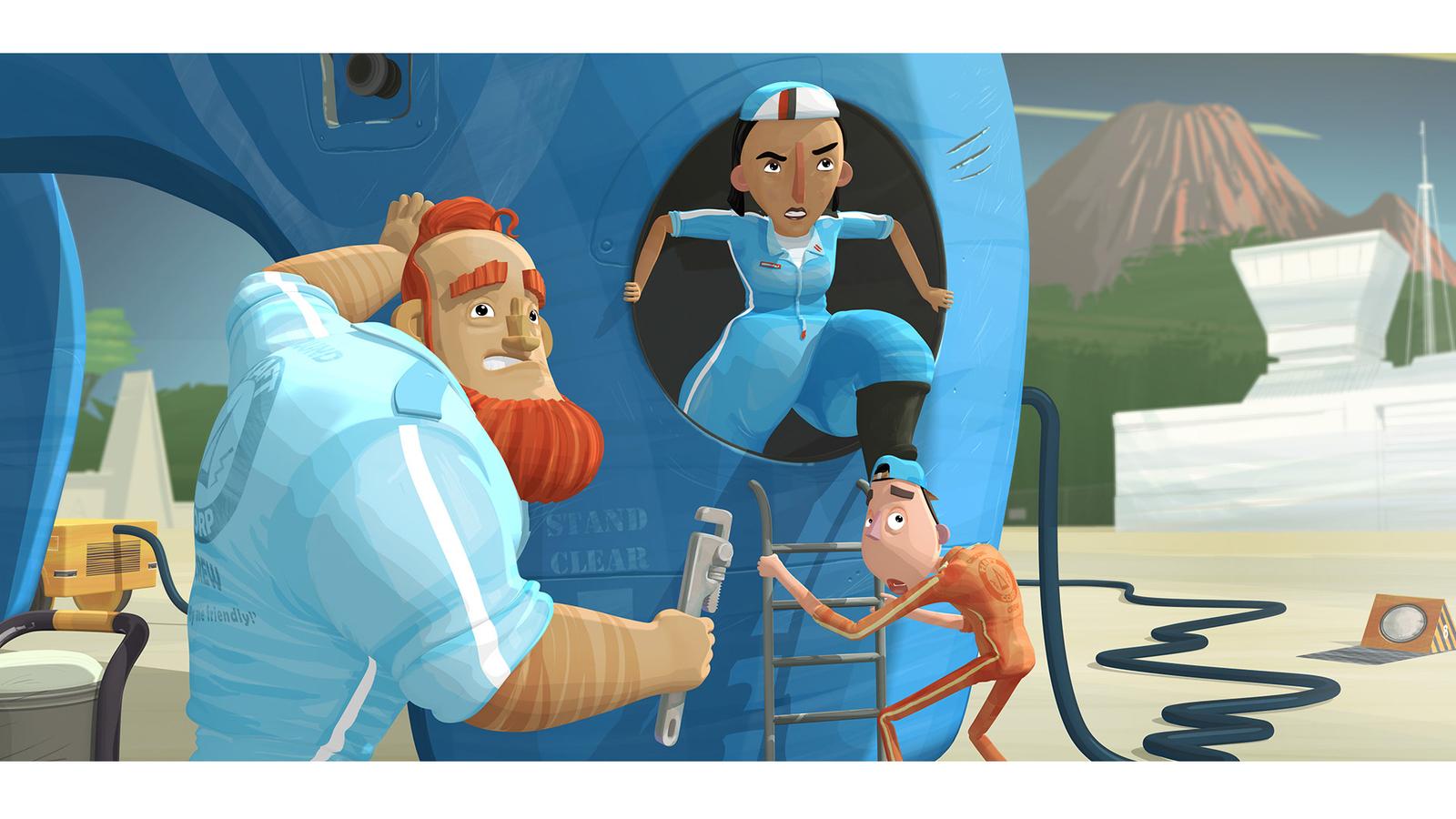 Tubbs Ground Crew promotional artwork