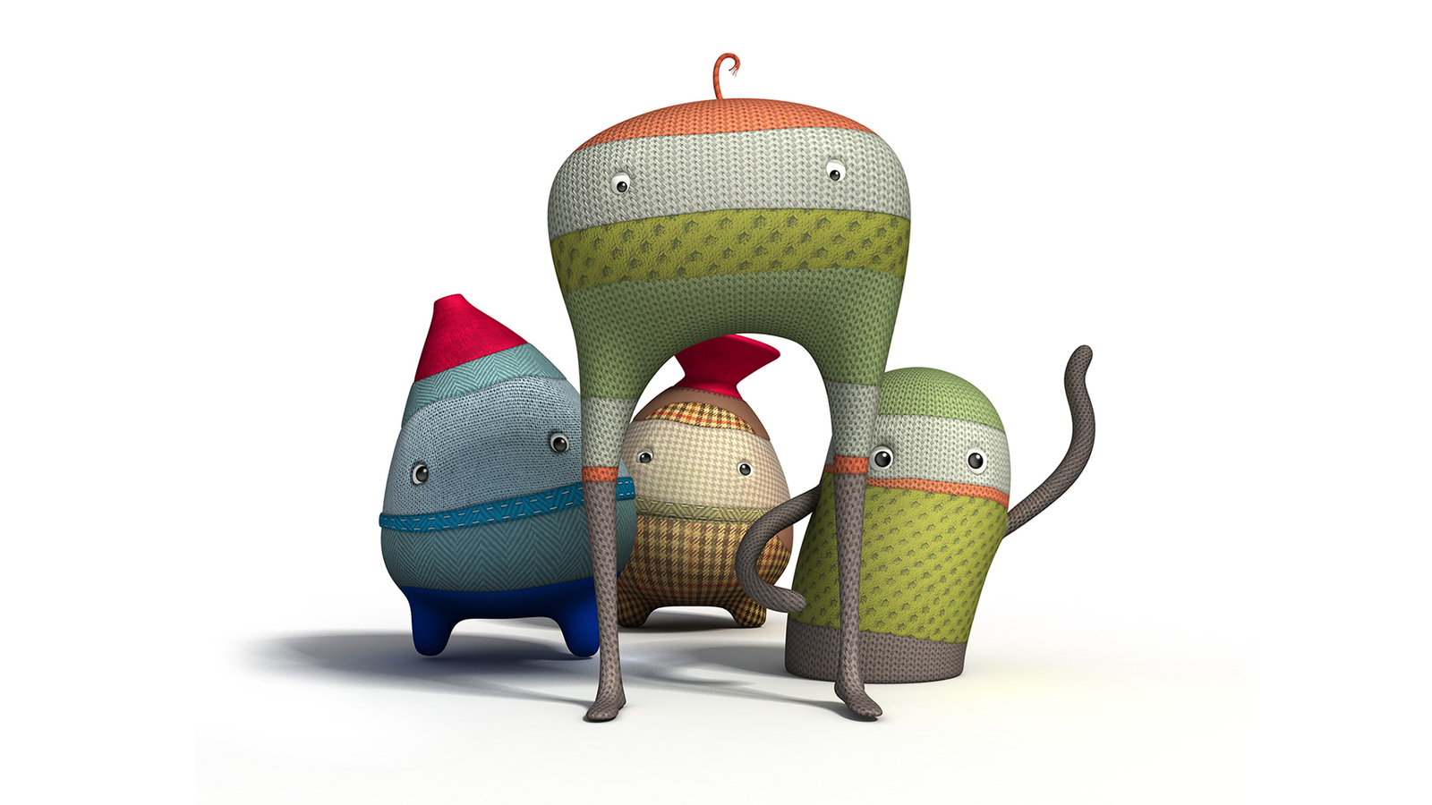 Render of 3D characters from Hidrasec animation