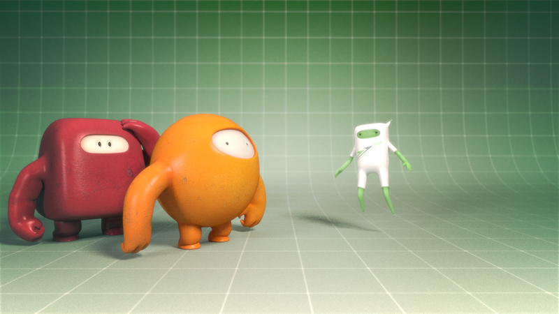 3d still of the mode of action characters