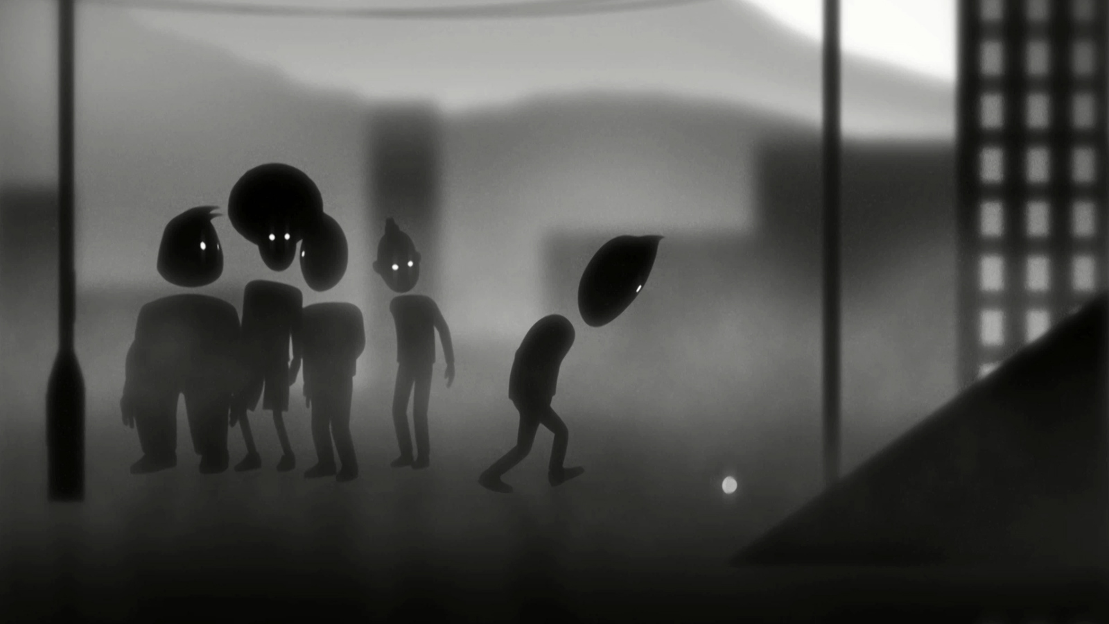 Still from the animation The boy I used to know.