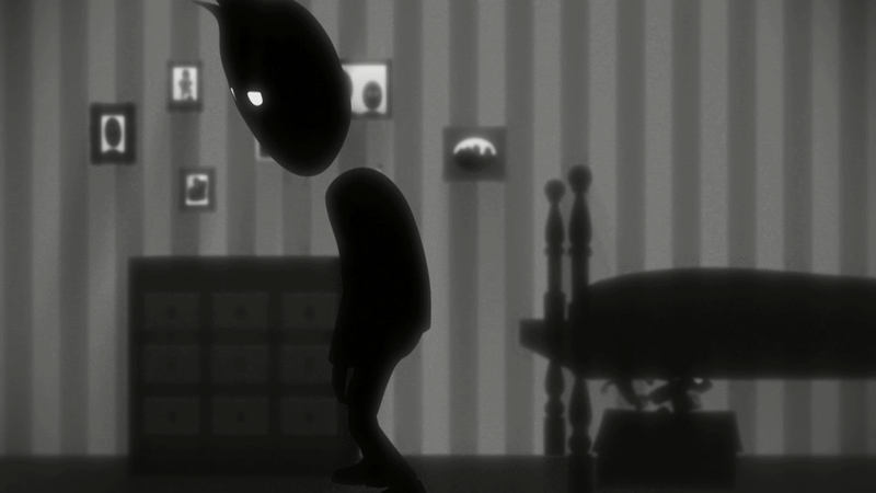 still from the animation The boy I used to know. The boy in bedroom
